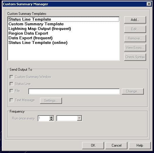 Lightning 2000 Custom Summary Manager